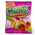 Цукерки жувальні Mamba Фрумеладки Фрукти і йогурт 72г