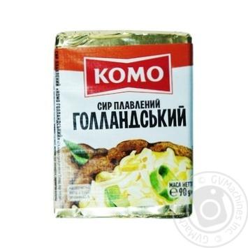 Сыр Комо Голландский плавленый 45% 90г - купить, цены на Фуршет - фото 1