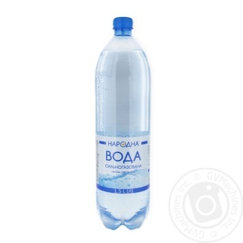 Water heavily carbonated Narodna 1.5l - buy, prices for Furshet - image 1
