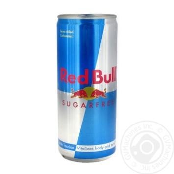 Напиток энергетический Red Bull без сахара 250мл - купить, цены на Фуршет - фото 1