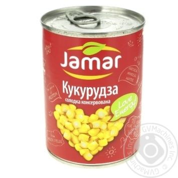 Кукуруза консервированная Jamar 400г - купить, цены на Фуршет - фото 1