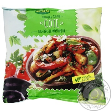 Khutorok Sauteed Vegetable Mixture Quick-frozen 400g