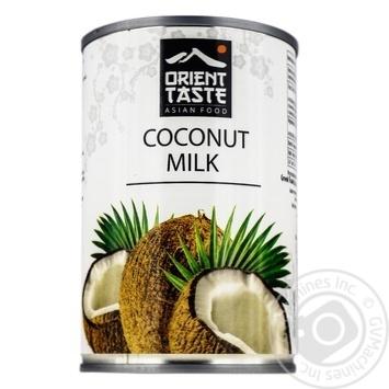 Молоко кокосовое Orient Taste 400мл - купить, цены на Фуршет - фото 1