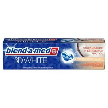 Blend-a-med 3D White Gentle Cleaning Toothpaste 100ml - buy, prices for Auchan - photo 3