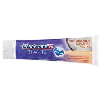 Зубна паста Blend-a-med 3D White Дбайливе чищення 100мл - купити, ціни на CітіМаркет - фото 2