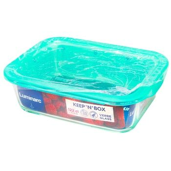 Luminarc Food container with cover 1160ml - buy, prices for CityMarket - photo 1