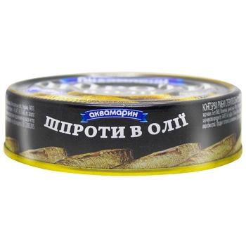 Шпроти Аквамарин в олії 150г - купити, ціни на Ашан - фото 3