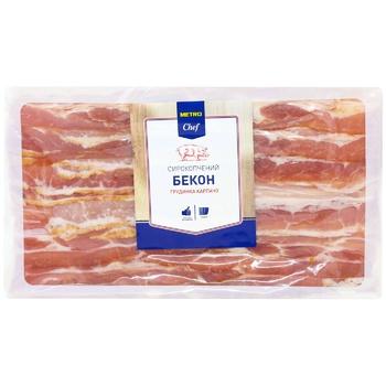 Бекон Metro Chef сырокопченый грудинка карпаччо 450г