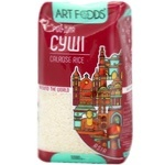 Рис Art Foods круглий для суші 1кг