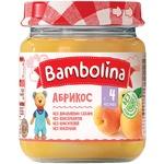 Puree Bambolina apricot for children from 4 months 100g Belarus