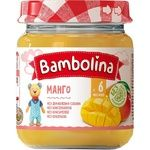 Пюре Bambolina манго 100г