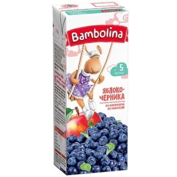 Bambolina Apple-Blueberry Nectar 200ml - buy, prices for CityMarket - photo 1
