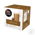 Кофе NESCAFÉ® DOLCE GUSTO® Café au Lait в капсулах 16шт 160г - купить, цены на Novus - фото 1
