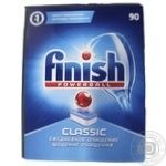 Средство Finish Classic для мытья посуды в посудомоечных машинах в таблетках  90шт