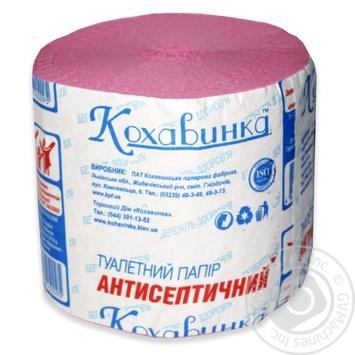 Туалетная бумага Кохавинка Антисептическая 8шт - купить, цены на Novus - фото 1