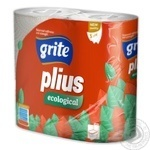 Grite Toilet Paper Three-Layer 4pcs - buy, prices for Auchan - image 2