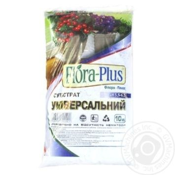 Субстрат Flora-Plus універсальний 10л - купити, ціни на МегаМаркет - фото 2
