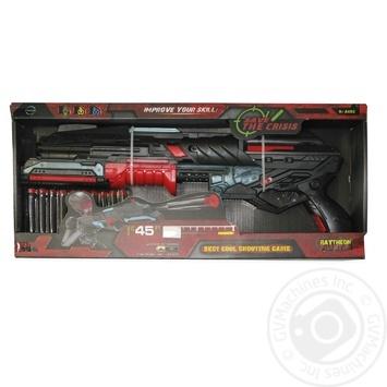Іграшкова зброя Бластер 10-зарядний Арт. FJ831 - купить, цены на МегаМаркет - фото 1
