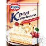 Dr.oetker with vanilla for desserts cream 50g