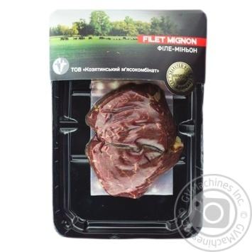 Вырезка говяжья Food Works отборочная - купить, цены на Метро - фото 1