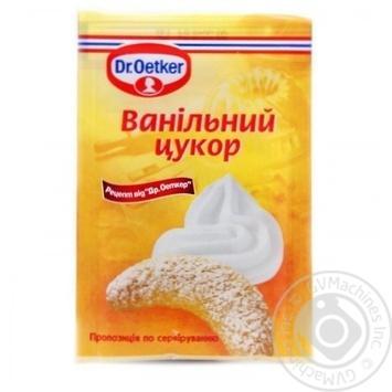 Ванільний цукор Др.Оеткер 8г - купити, ціни на Novus - фото 1