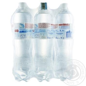 Минеральная вода Моршинская негазированная 1.5л - купить, цены на Метро - фото 1