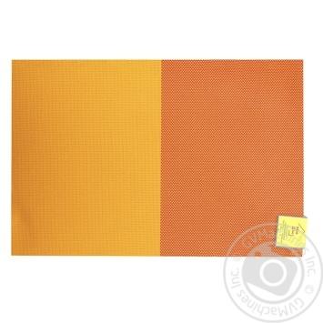 Коврик сервировочный Красно-оранжевый 30Х45см - купить, цены на МегаМаркет - фото 1