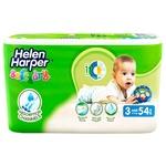 Подгузники Helen Harper Soft&Dry Midi 3 4-9кг 54шт
