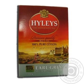 Чай Хейлиз Эрл Грей черный крупнолистовой 100г - купить, цены на Novus - фото 2