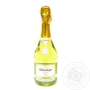 Вино ігристе белое Schlumberger Brut Klassik 11.5% 0.75л