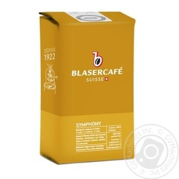 Blaser Cafe Gourmets Plaisir Coffee Beans 250g - buy, prices for MegaMarket - image 1