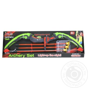 Glowing bow set and arrows Toy - buy, prices for MegaMarket - image 1