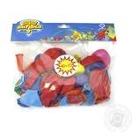 Набор шариков Веселая затея в ассортименте 25см 50шт