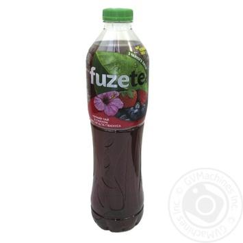 Чай холодный Fuzetea черный со вкусом лесных ягод и гибискуса 1,5л - купить, цены на Novus - фото 2