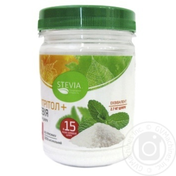 Stevia Stevia Leaf Extract with Erythrol 180g - buy, prices for Furshet - image 1