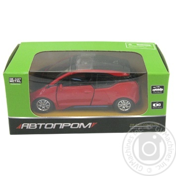 Машинка игрушечная Автопром BMW металева