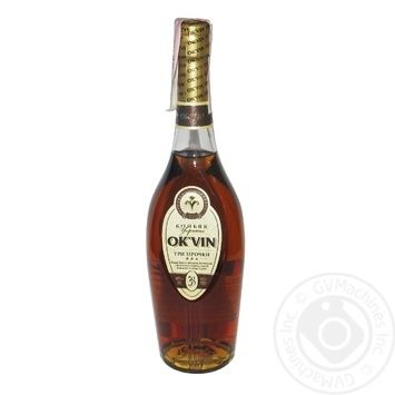 Ok'vin 3 Yrs Сognac 40% 0,5l - buy, prices for CityMarket - photo 1