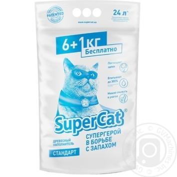 Super Cat Standart Hygienic Litter for Cat Toilet 7kg - buy, prices for Novus - image 1