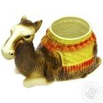 Camel Ceramic Flowerpot