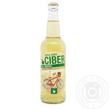 Ciber semi-sweet apple cider 5-6% 0,5l - buy, prices for Novus - image 1