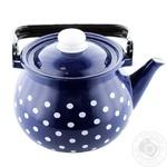 Чайник емальований Саксонія Idilia 2л