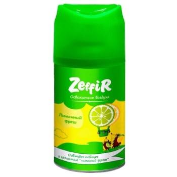 Освежитель воздуха Zeffir Лимонный фреш запаска 250мл