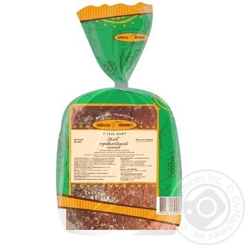 Хлеб Киевхлеб Прибалтийский темный половина нарезка 400г - купить, цены на Ашан - фото 2