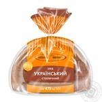 Хліб Київхліб Український столичний нарізаний 475г
