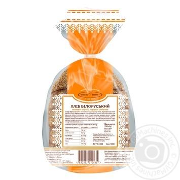 Хлеб Киевхлеб Белорусский половина нарезка 350г - купить, цены на Фуршет - фото 4