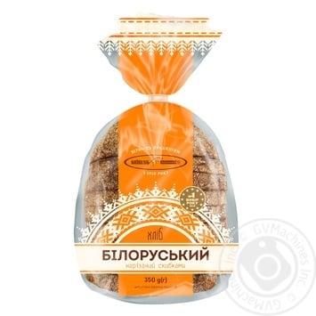Хлеб Киевхлеб Белорусский половина нарезка 350г - купить, цены на МегаМаркет - фото 1
