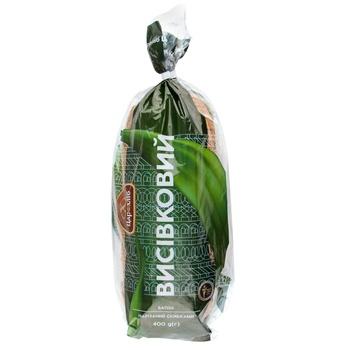 Батон Царь Хлеб Отрубной нарезной в упаковке 400г - купить, цены на Фуршет - фото 1