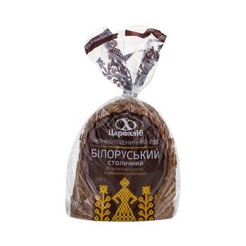Хлеб Царь Хлеб Белорусский столичный половинка нарезанный ломтями в упаковке 350г