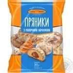 Kyivkhlib Kií̈vs'kí with milk filling pryaniki 360g