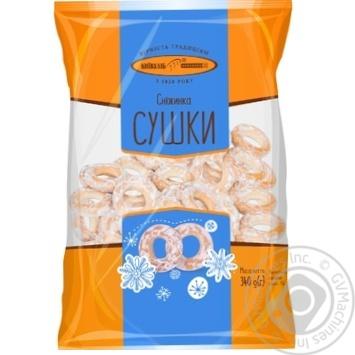 Сушки КиївХліб Сніжинка 340г